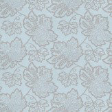 Thibaut New Canaan  Aqua Wallpaper