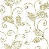 Thibaut Waterbury Trail Cream / Green Wallpaper