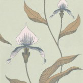 Cole & Son Orchid Green Wallpaper