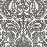 Cole & Son Malabar Black / White Wallpaper - Product code: 66/1004