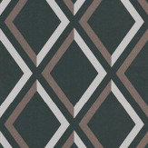 Cole & Son Pompeian Grey / Brown / Black Wallpaper