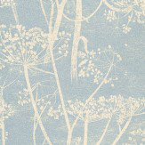 Cole & Son Cow Parsley Blue Wallpaper