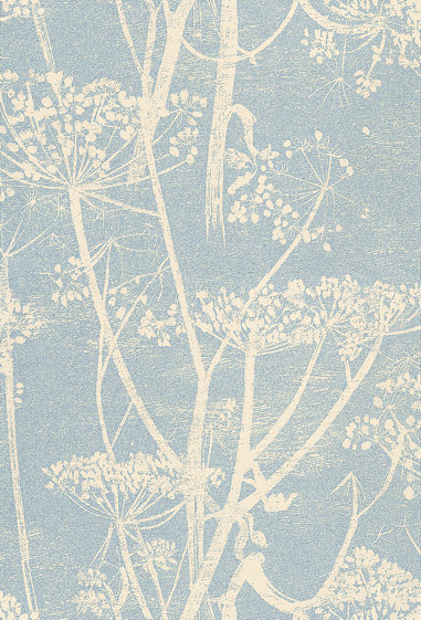 Cole & Son Cow Parsley Blue Wallpaper main image