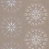 Cole & Son Fioretti Brown / Blue / White Wallpaper