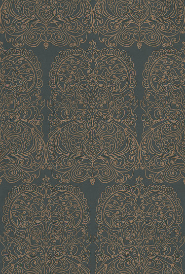 Cole Son Alpana Gold Black Wallpaper Main Image