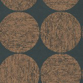 Cole & Son Luna Rich Gold / Black Wallpaper