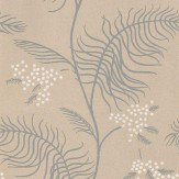 Cole & Son Mimosa Grey / White / Beige Wallpaper