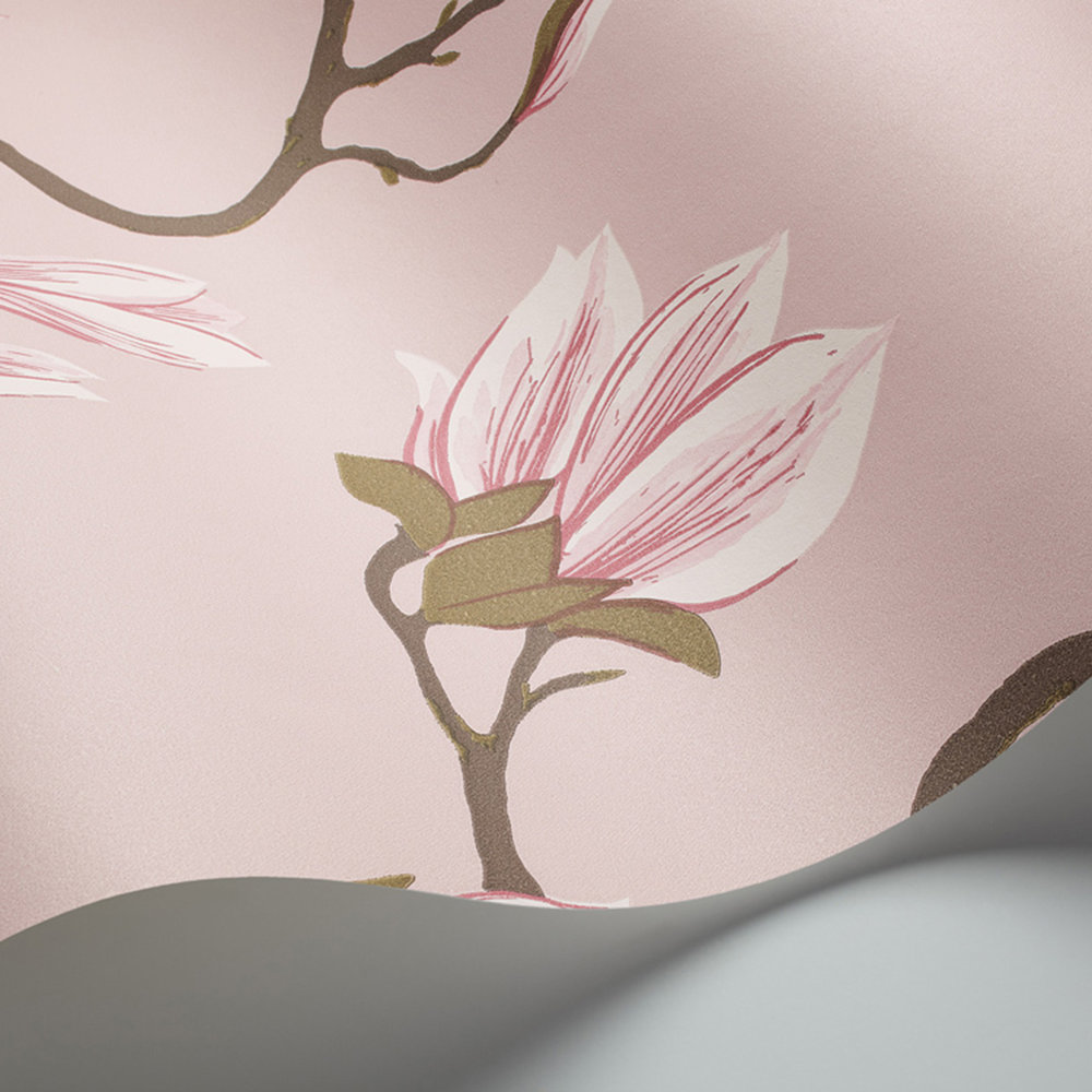 Cole & Son Magnolia Pink Wallpaper - Product code: 72/3009