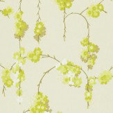 Harlequin Giselle Lime / Cream Wallpaper
