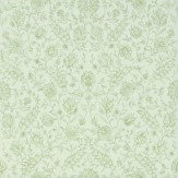The Royal Collection Flora Green Wallpaper - Product code: PQ009/15