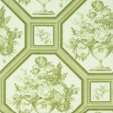 The Royal Collection Wyatt Green Wallpaper