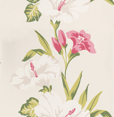 Clarke & Clarke Tahiti  Chintz Wallpaper main image