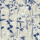 Clarissa Hulse Nettles Navy / White Wallpaper - Product code: 110171