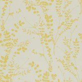 Clarissa Hulse Salvia Lime / Off White Wallpaper - Product code: 110158