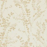 Clarissa Hulse Salvia Gold / Off White Wallpaper - Product code: 110160