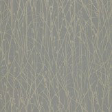 Clarissa Hulse Grasses Metallic Gold / Brown Wallpaper - Product code: 110150