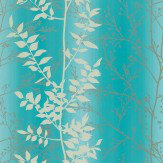 Clarissa Hulse Persephone Cream / Silver / Blue Wallpaper - Product code: 110184