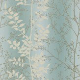 Clarissa Hulse Persephone Cream / Silver / Pale Blue Wallpaper - Product code: 110186