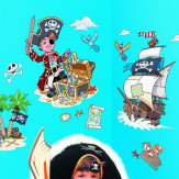 FunToSee Pirates Sticker