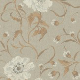 Casamance Peony Floral Wallpaper