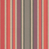 Casamance Anemone Stripe Wallpaper