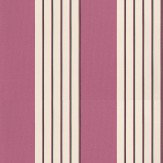 Nina Campbell Bicton Fuchsia / Black / Gold Wallpaper - Product code: NCW4061-01