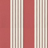 Nina Campbell Bicton Tomato / Black / Gold Wallpaper - Product code: NCW4061-07