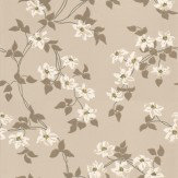 Nina Campbell Malleny White / Stone Wallpaper - Product code: NCW4065-02