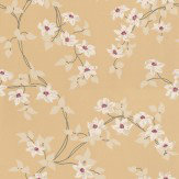 Nina Campbell Malleny White / Yellow Wallpaper - Product code: NCW4065-05