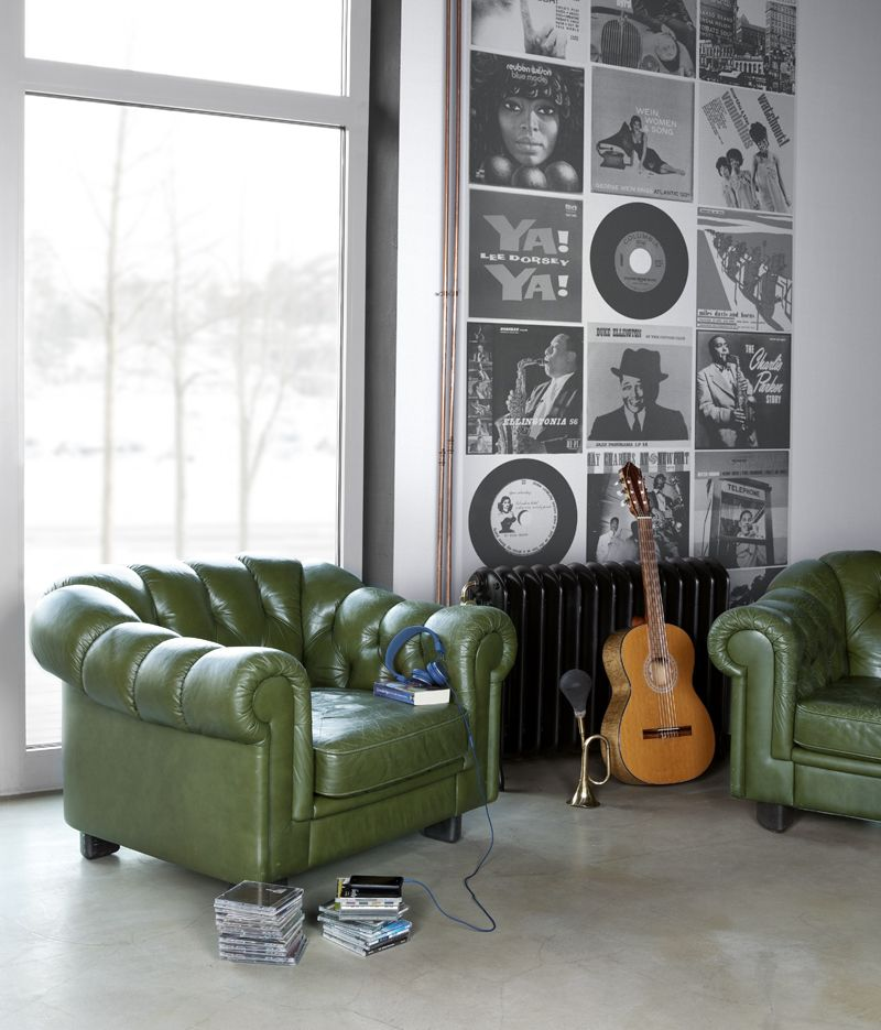 Mr Perswall Vinyl Monochrome Mural - Product code: P130703-W