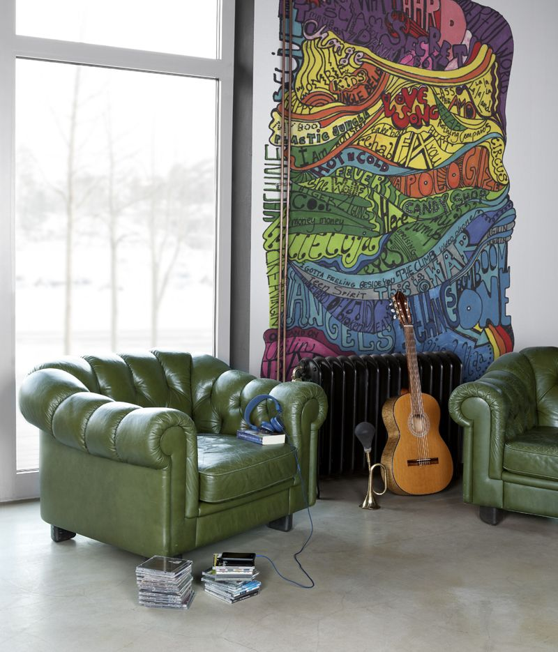 Mr Perswall Ballads Mural - Product code: P131201-W