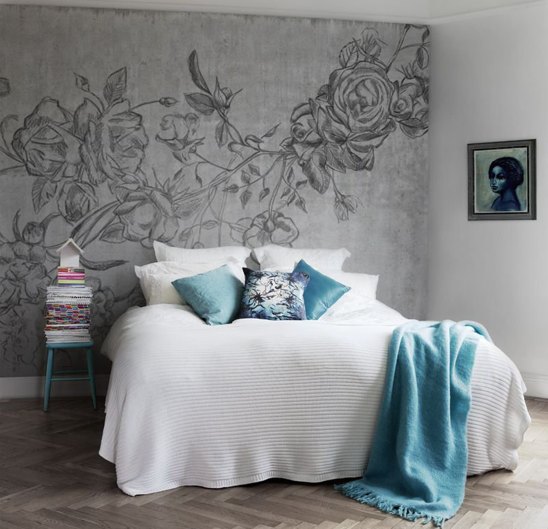 Mr Perswall Rocky Rose Mural - Product code: P131601-9