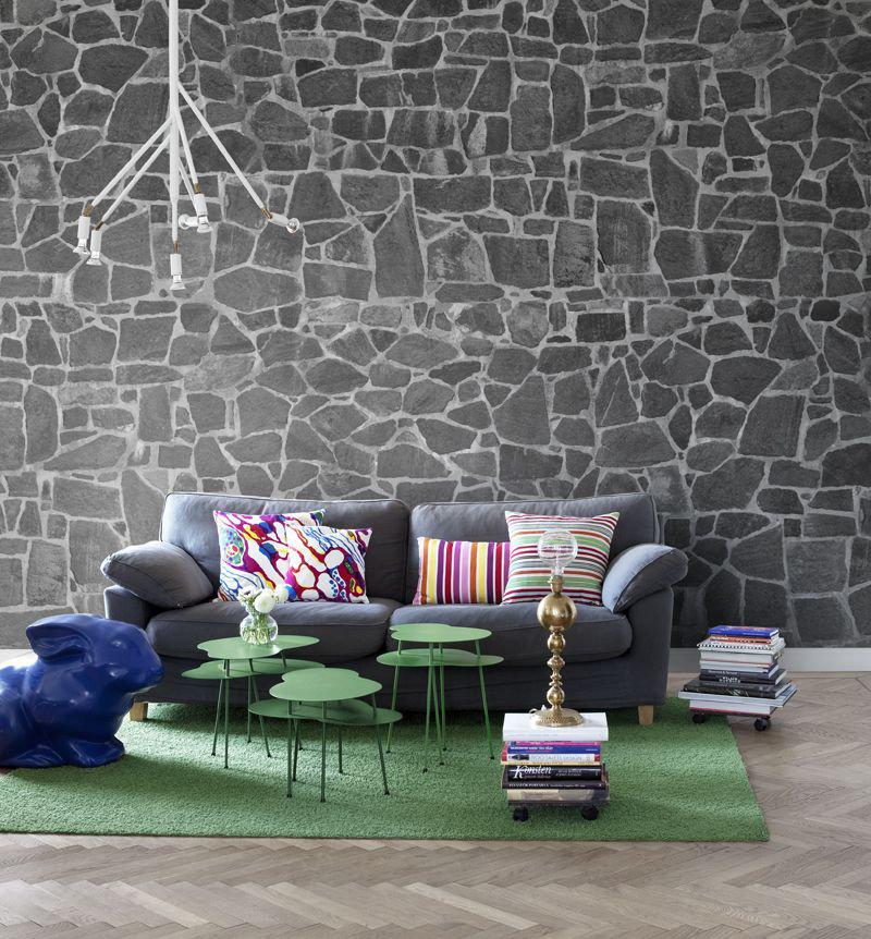 Mr Perswall Stones Mural - Product code: P131802-9