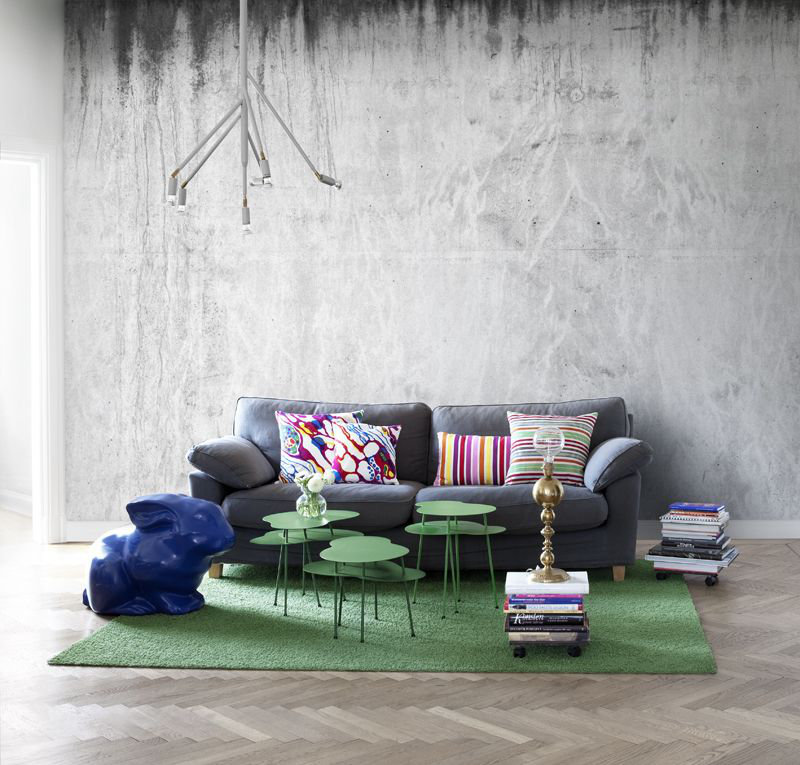 Mr Perswall Concrete Mural - Product code: P131901-9