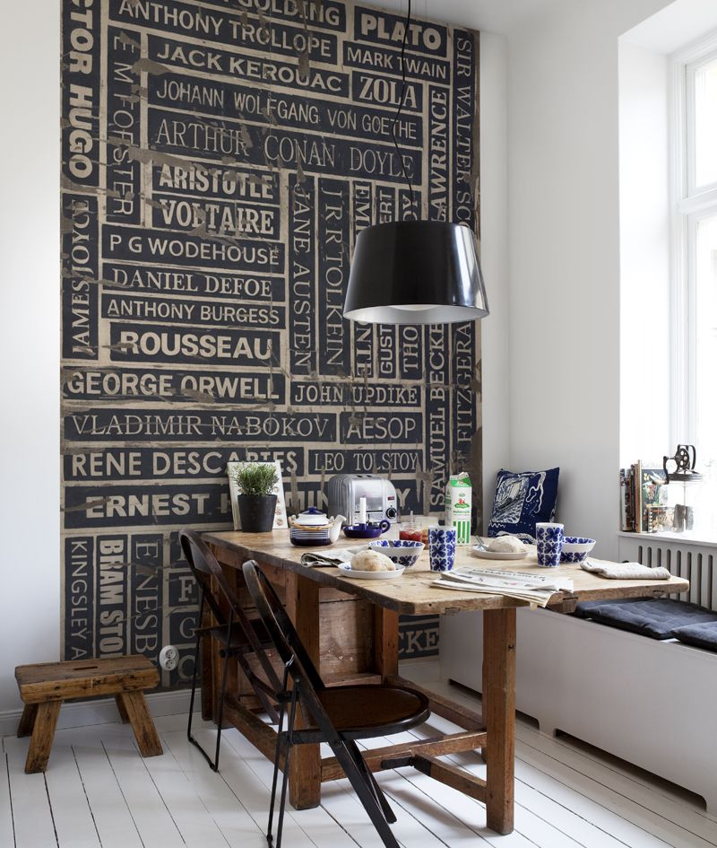 Mr Perswall Writers Mural - Product code: P132301-4