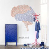 Mr Perswall Organs Mural - Brain - Product code: P132602-W