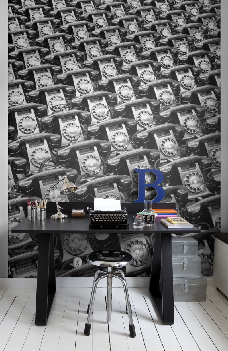 Mr Perswall Telephone Mural - Product code: P132801-4