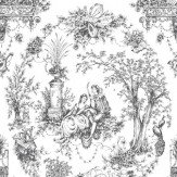 Opus Muras Arcadia Black / White Wallpaper