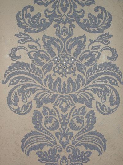 DIY Kandola Wallpapers Damask Wallpaper crystallised, W1505/05/001