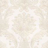 Albany Damasco Italiano Cream Wallpaper