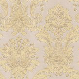 Albany Damasco Italiano Gold Wallpaper