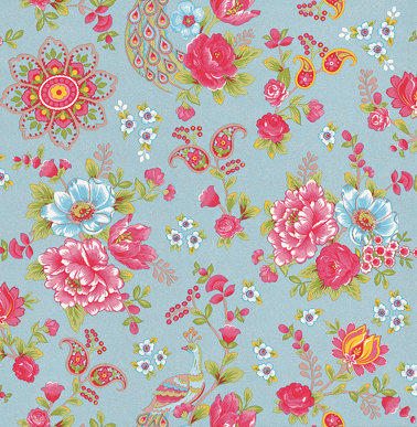 Pip Wallpaper Pip Studio Pink / Green / Blue Wallpaper main image