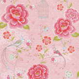 Pip Wallpaper Pip Studio Pink / Green Wallpaper