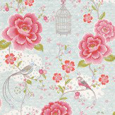 Pip Wallpaper Pip Studio Pink / Blue / White Wallpaper