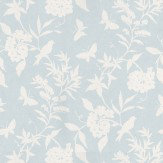 Thibaut April Pale Blue Wallpaper