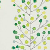 Scion Berry Tree Green Wallpaper