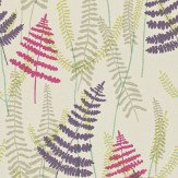Scion Athyrium Pink / Purple / Green Wallpaper