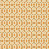 Scion Lace Orange Wallpaper