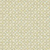 Scion Miro Green / Cream Wallpaper - Product code: 110235