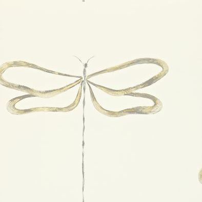 Scion Dragonfly Gold / Grey Wallpaper - Product code: 110243